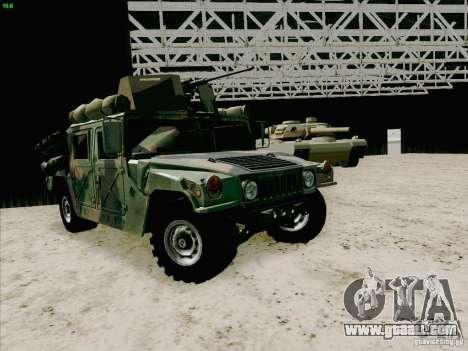 Hummer H1 for GTA San Andreas