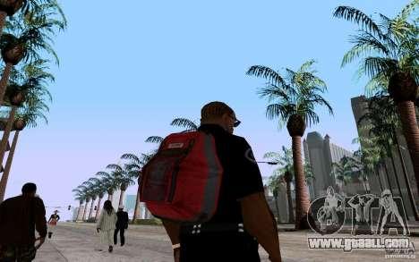 The new parachute for GTA San Andreas second screenshot