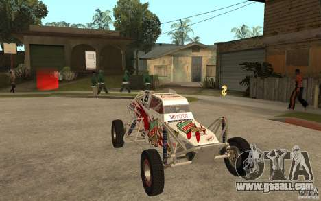 CORR Super Buggy 1 (Schwalbe) for GTA San Andreas back view