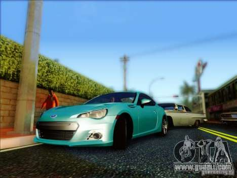 Subaru BRZ S 2012 for GTA San Andreas left view