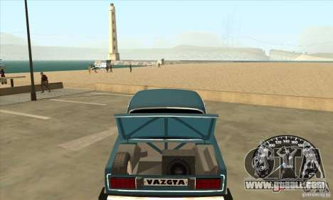 VAZ 2106 Tuning Light for GTA San Andreas right view