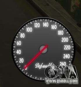 Speedometer IV (2 Skins) for GTA 4 second screenshot