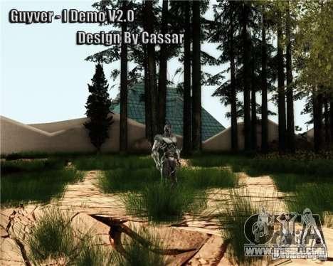 Guyver-I Demo for GTA San Andreas