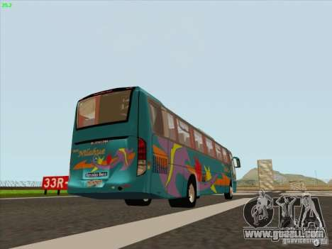 Mercedes-Benz Vissta Buss LO for GTA San Andreas right view