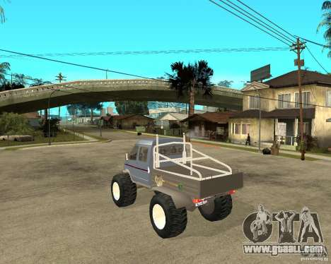 GAS KeržaK (Swamp Buggy) for GTA San Andreas left view