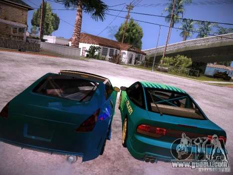 Nissan 200SX Falken Tire for GTA San Andreas back view