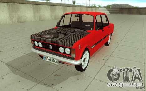 Fiat 125p for GTA San Andreas upper view