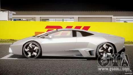 Lamborghini Reventon v2 for GTA 4 inner view