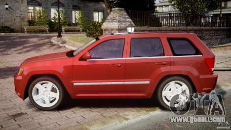Jeep Grand Cherokee for GTA 4 left view