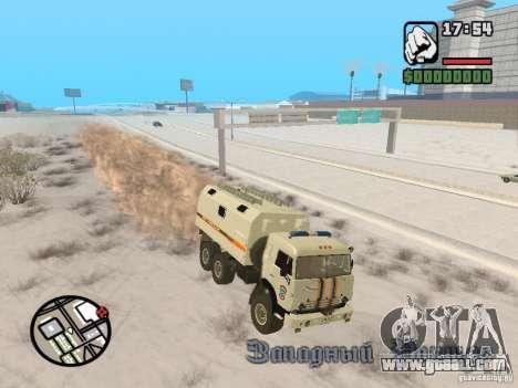 KAMAZ MES version 2 for GTA San Andreas right view