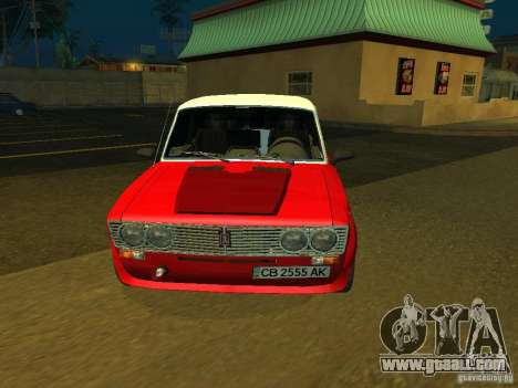 VAZ 2103 for GTA San Andreas back left view