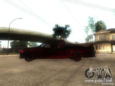 Isuzu D-Max for GTA San Andreas left view