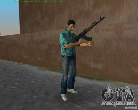 Zastava M-70AB2 for GTA Vice City second screenshot