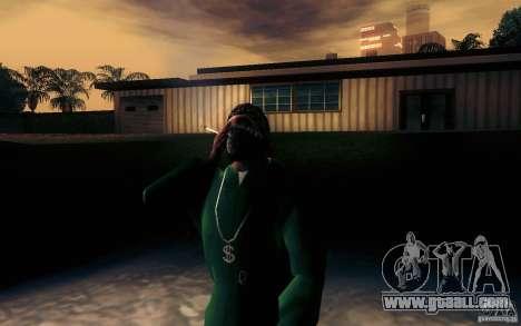 Realistic cigarette for GTA San Andreas second screenshot