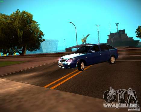 VAZ-2172 Restajl for GTA San Andreas left view