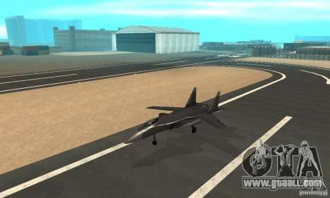 Su-47 berkut Defolt for GTA San Andreas