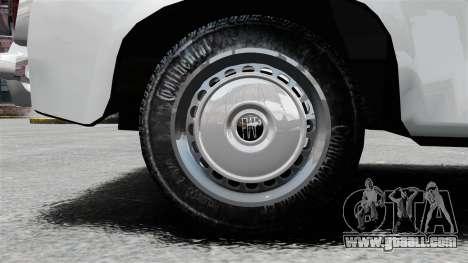 Zastava 750 for GTA 4 back view