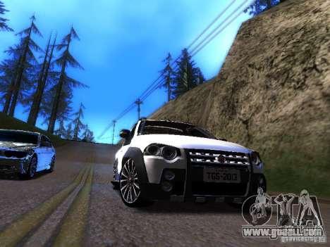Fiat Strada for GTA San Andreas left view
