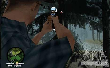 New HUD  v.2 for GTA San Andreas