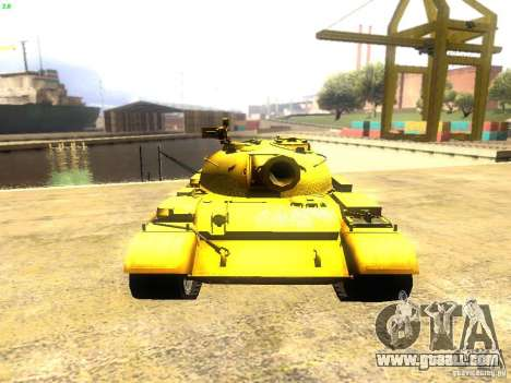 Type 59 v1 for GTA San Andreas back view