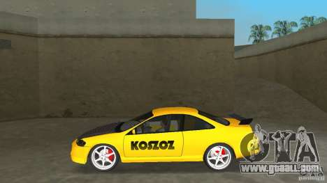 Honda Accord Coupe Tuning for GTA Vice City left view
