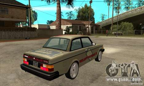 Volvo 240 Turbo for GTA San Andreas right view