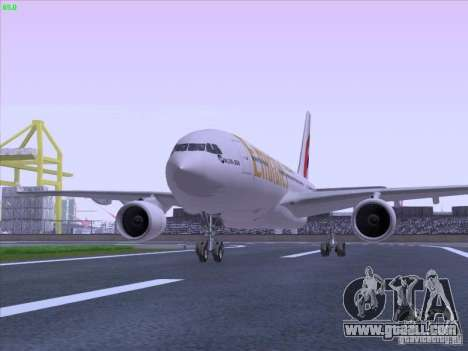 Airbus A330-200 Emirates for GTA San Andreas