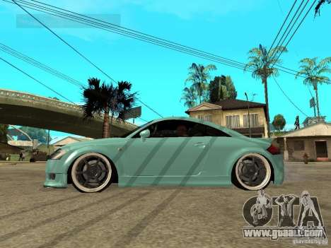 Audi TT for GTA San Andreas left view