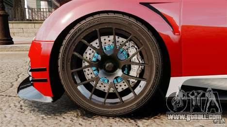 Bugatti Veyron 16.4 Body Kit Final Stock for GTA 4 inner view
