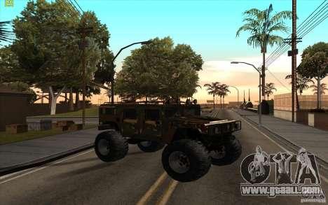 Hummer H1 Humster for GTA San Andreas