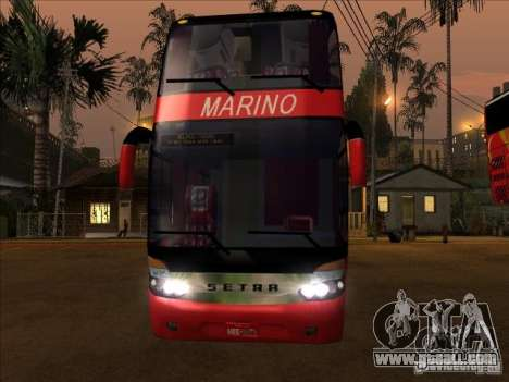 Setra S 417 HDI for GTA San Andreas left view