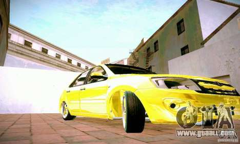 Lada Grant GOLD for GTA San Andreas inner view