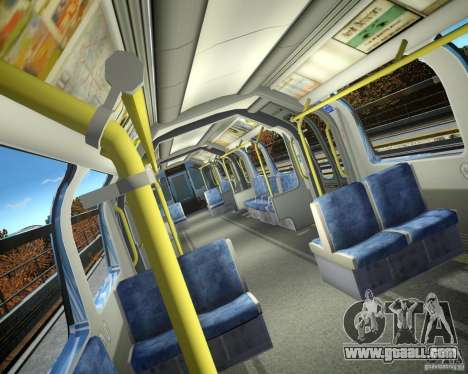 London Train for GTA 4 second screenshot