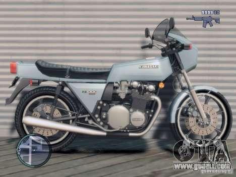 Kawasaki Z1-R for GTA 4 left view