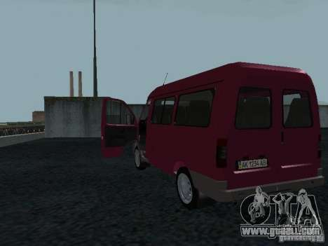 GAZ 2217 Sobol for GTA San Andreas right view