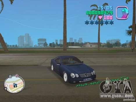 Mercedes-Benz E350 for GTA Vice City