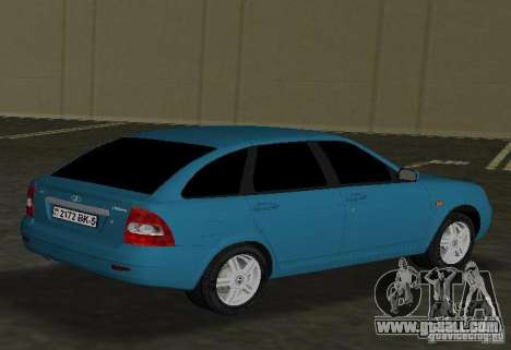 Lada Priora Hatchback for GTA Vice City right view