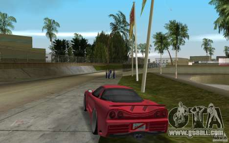 Acura NSX 2004 Veilside for GTA Vice City back left view