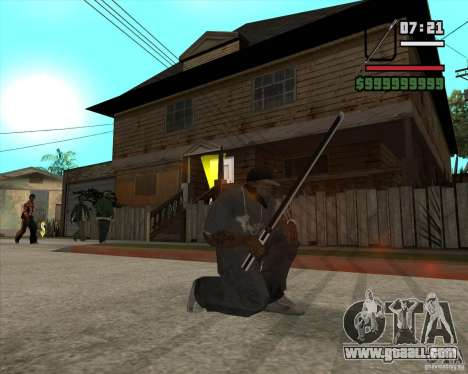Sasuke sword for GTA San Andreas