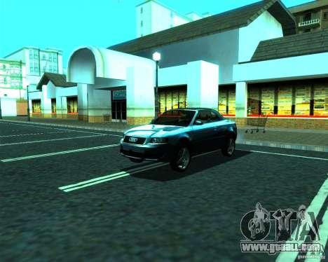 Audi A4 Cabrio for GTA San Andreas