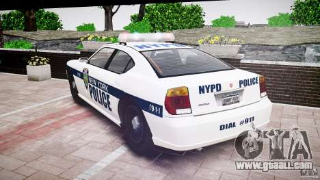 FIB Buffalo NYPD Police for GTA 4 side view