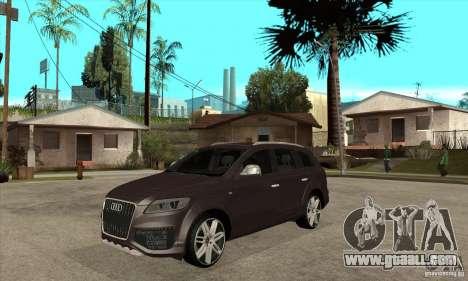 AUDI Q7 V12 V2 for GTA San Andreas