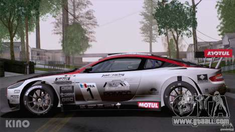 Aston Martin Racing DBRS9 GT3 for GTA San Andreas bottom view
