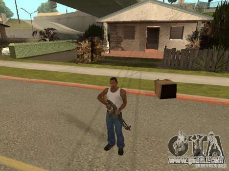Light Machine Gun Dâgterëva for GTA San Andreas fifth screenshot