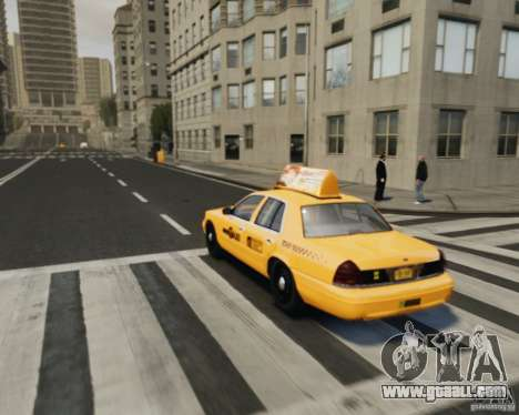 Ford Crown Victoria NYC Taxi 2012 for GTA 4 inner view