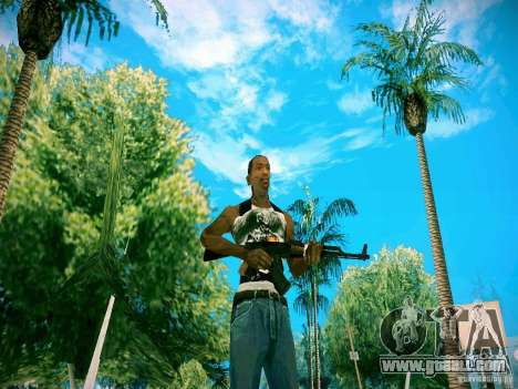 HD Pack weapons for GTA San Andreas forth screenshot