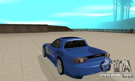 Mazda RX-7 Pickup for GTA San Andreas right view