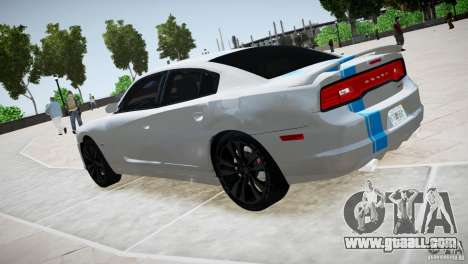 Dodge Charger SRT8 2012 for GTA 4 right view