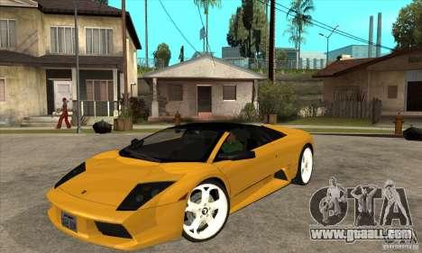 Lamborghini Murcielago Roadster Final for GTA San Andreas