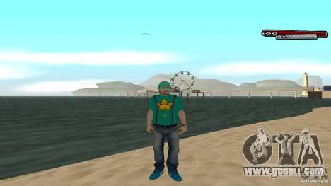 Skin Pack The Rifa Gang HD for GTA San Andreas fifth screenshot